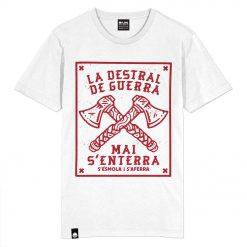 Samarreta Flama La destral de guerra color blanc